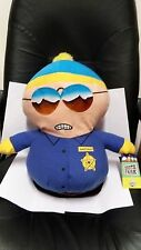 South Park Eric Cartman Sheriff Police Officer Large Plush Toy Factory 2008 NWT