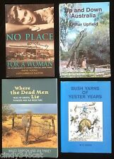 Arthur Upfield Up Down Australia Graves Pioneers Bush Pubs Yarns Outback 4 BOOKS