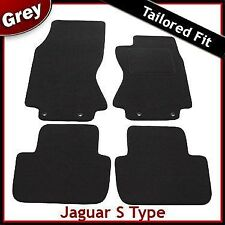 Jaguar S Type Auto (2002 2003...2006 2007) Tailored Fitted Carpet Car Mats GREY