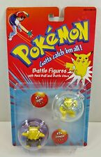 Pokemon Battle Figure Pack Hypno & Drowzee w/t Pokeball & Disks Hasbro 1999
