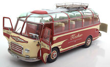 Schuco 1956 Setra S6 Fischer Red / Creme 1/18 Scale. New Release! LE of 3000