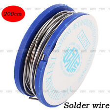 200cm Reliable 0.8mm 11g Tin Lead Rosin Core Solder Welding Iron Wire Reel 63/37