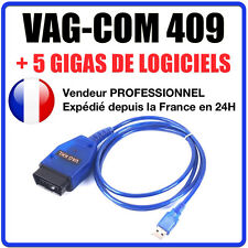 USB KKL VAGCOM 409 VAG COM 409.1 USB Port OBD2 Cable with FT232BL Chip Black