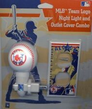 BOSTON RED SOX NIGHT LIGHT AND OUTLET COVER