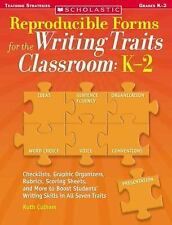 Reproducible Forms for the Writing Traits Classroom, Grade K-2 : Checklists, Gra