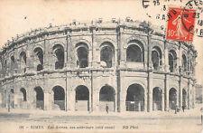 CPA 30 - NÎMES - Die Arena, ansicht außen ( -seite West- )