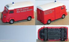 PRALINE HO 1/87 CITROEN HY H TUB INTERNATIONALE SPIELWAREN MESSE NUMBERG 1985 a