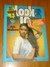 LOOK-IN BRITISH WEEKLY MAGAZINE #22 29TH MAY 1982 MONSOON ALTERED IMAGES