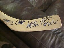 2012-2013 ST JOHNS ICE CAPS TEAM AUTOGRAPHED HOCKEY STICK-WINNIPEG