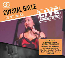 CRYSTAL GAYLE New 2017 PREVIOUSLY UNRELEASED 2005 LIVE CONCERT DVD & CD SET