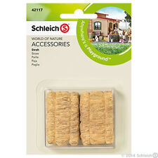 NEW SCHLEICH 42117 Accessories - Equestrian Horse Straw Bales 2 Piece Play Set