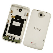 Genuine Original Battery Back Cover For HTC One X with Volume Power Key - White
