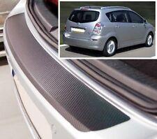 Toyota Corolla Verso - Effetto Carbonio paraurti posteriore Protettore
