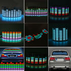 Car Sticker Music Rhythm LED Flashing Lights Lamp Sound Activated Equalizer horn