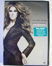 Brand New CELINE DION TAKING CHANCES: THE SESSIONS DVD Free Shipping & Handling!