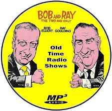 Bob and Ray -  587 episodes - Old Time Radio – Mp3 DVD CD