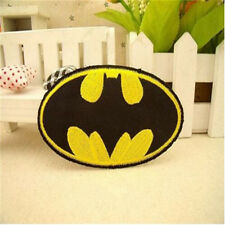 Batman Bat Signal Logo Dark Knight DC Comics Superhero Iron-On Applique Patch !