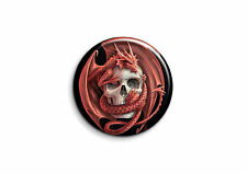 Crânes - Dragon 1 - Badge 25mm Button Pin