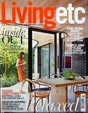 LIVING ETC. AUG14 Design Directions Find More Space In The Home FREE SHIPPING