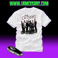 The Outsiders - Men's 100% Cotton Tee - movie - Greaser - Rockabilly - iamcesart