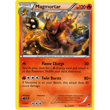 Pokemon CCG XY Furious Fists Magmortar - 11/111  NM