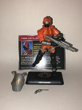 GI Joe 50th Anniversary Cobra HISS Gunner loose Silent Strike 2015 Crew Trooper