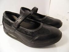 RYN WALKING Womens Black Velcro Mary Jane Toning Rocker Walking Shoe 5.5 KOR 225