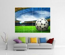 SOCCER FOOTBALL GIANT WALL ART PICTURE PRINT PHOTO POSTER J140