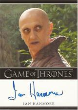"Game of Thrones Season 3 - Ian Hanmore ""Pyat Pree"" Auto / Autograph Card"