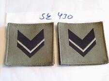 Italia armabzeichen nero su verde oliva tessuti 1 PAIA (sk430)