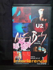 U2 ACHTUNG BABY - VHS VIDEO
