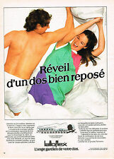 PUBLICITE ADVERTISING 114  1980  LATTOFLEX  matelas
