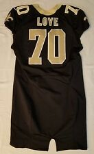#70 Love Authentic Nike Player Worn Jersey from New Orleans Saints