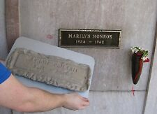 Grave Marker - MARILYN MONROE History - Memorial Plaque - lot signed andy warhol