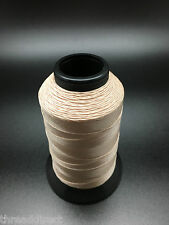 4oz Spool T70 Light Tan Bonded Nylon Sewing Thread 1500 Yards B69 Fabric N10