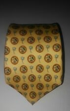 Vineyard Vines Custom Collection Yellow Florida Chapter Managers Club Tie NWT