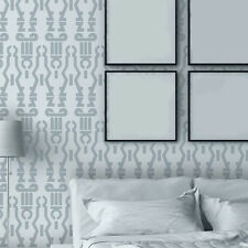 Geometric Wall Stencil Donna, Reusable Stencils Patterns for accent wall decor