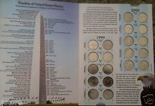 112 COINS COLLECTION P & D OF 50 STATEHOOD, DC US TERRITORIES 1999-2009 QUARTERS