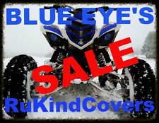 Raptor 700 yfz 450 2006-2017 BLUE EYE HEADLIGHT COVERS ALL YEARS  MUST SEE!!
