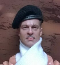 DID Dragon In Dreams 1/6th Scale WW2 Black Beret & Scarf - Pierre