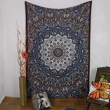 Mandala Star Wall Hanging Indian Cotton Tapestry Twin MulticolorDecor Throw