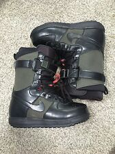 Nike Zoom Force 1 ZF1 Men's snowboard boots 334841-302 Black Green Sz 8.5