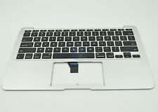 "Used Top Case Palm Rest with US Keyboard for Apple MacBook Air 11"" A1465 2012"