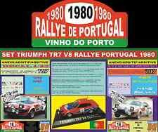 SET ANEXO DECAL 1/43 TRIUMPH TR7 V8 RALLYE PORTUGAL 1980 (02)