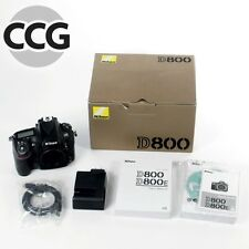 Nikon D800 Digital Camera with Box - Good User!