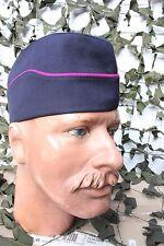 Calot en satin sans insigne année 70-Sapeur Pompier Allemand (Tour de tête 59cm)
