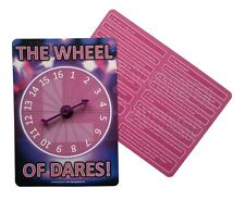 Hen Night Party Games - THE WHEEL OF DARES!     FREE P&P