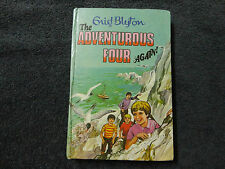 THE ADVENTUROUS FOUR AGAIN By Enid Blyton ( HARDCOVER BOOK )#