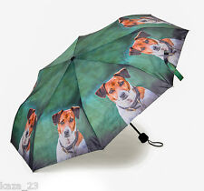 Country Matters Telescopic Hanbag Size (24cm) Jack Russell Dog Umbrella