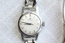 Platinum Vintage Omega Platinum  wrist Watch Swiss ladies 1950 -1060